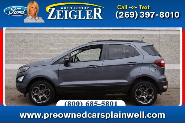 Photo 2018 Ford EcoSport SES - $22,500 (_Ford_ _EcoSport_ _SUV_)