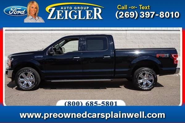 Photo 2018 Ford F-150 XLT Sport FX4 Chrome Pkg - $35,990 (_Ford_ _F-150_ _Truck_)