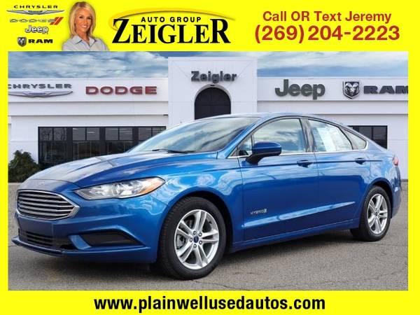 Photo 2018 Ford Fusion Hybrid SE - $13995 (_Ford_ _Fusion Hybrid_ _Sedan_)