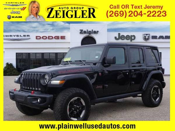 Photo 2018 Jeep All-New Wrangler Unlimited Rubicon - $46,995 (_Jeep_ _All-New Wrangler Unlimited_ _SUV)