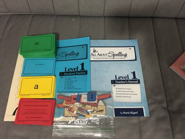 Photo All About Spelling - Homeschool (Lowell)
