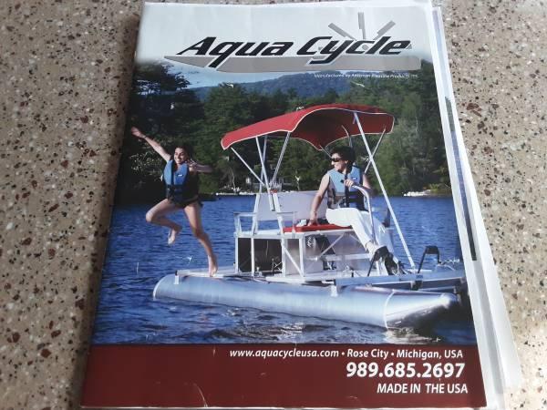 Photo Aqua Cycle II Paddle Boat(One of Kind) - $4,700 (caledonia)