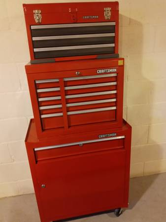 Photo Craftsman tool box set - $250 (Holland)