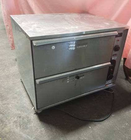 Photo Double Drawer Bread Bun Warmer Commercial Restaurant Convenience Store - $500 (Mishawaka)