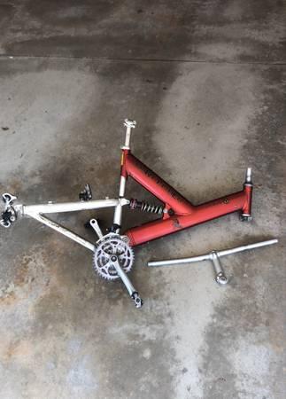 Photo Gary Fisher Joshua Y full suspension frame - $75 (Holland)
