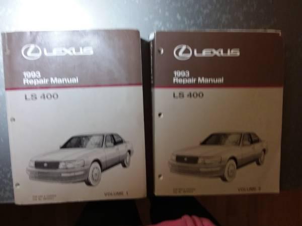 Photo LS400 1993 Lexus Repair Manuals - $150 (Holland)