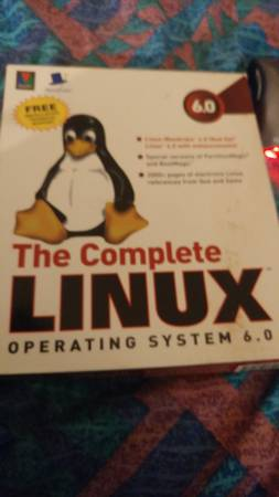 Photo Linux Red Hat O.S. for older PC - $2 (Holland)