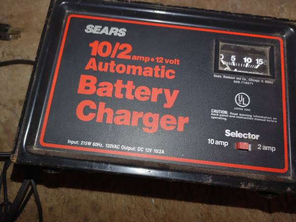 Photo Sears Battery Charger - $30 (Holland)