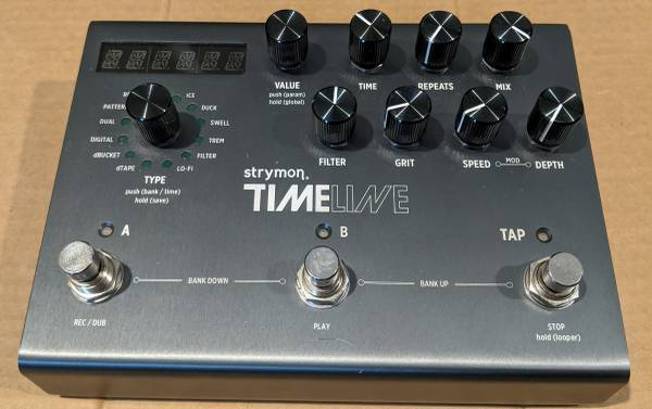 Photo Strymon Timeline guitar pedal - $400 (Grandville)