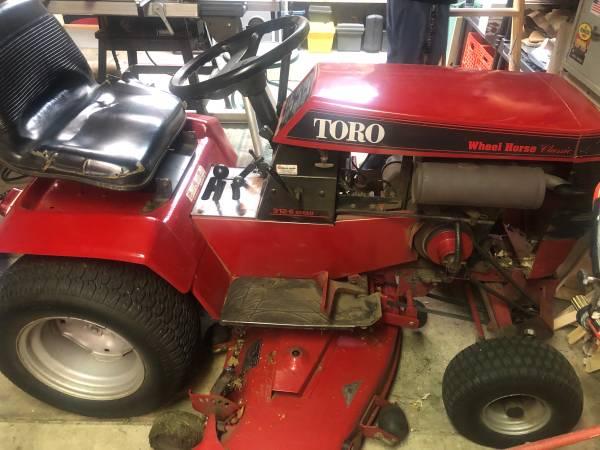 Photo Toro wheel horse riding mower and snow mover $1500 OBO - $1,500 (Hamilton)