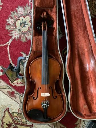 Photo Violin case bow model KALBERG - $160 (Hopkins)