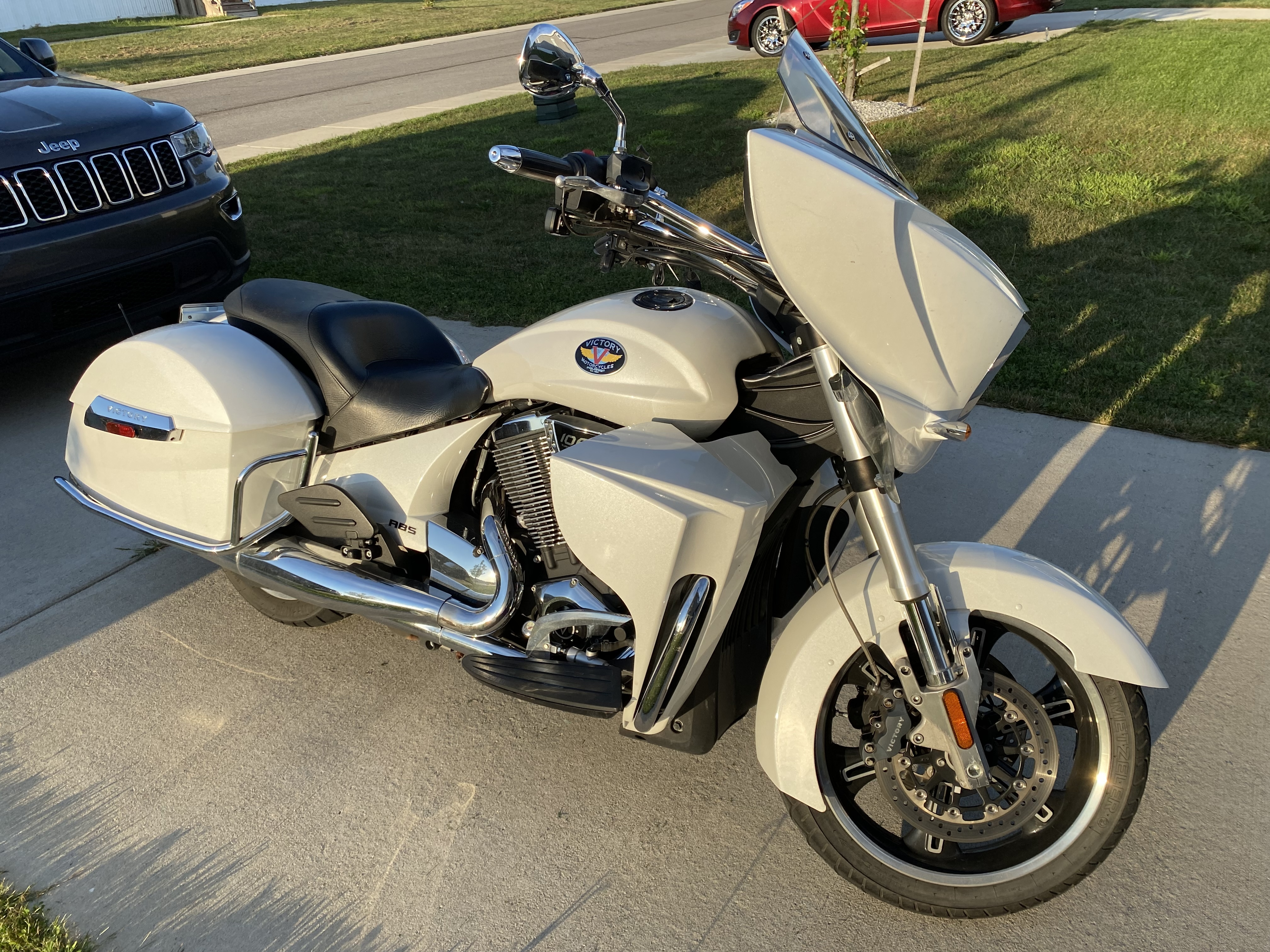 Photo Used 2012 Victory Touring Motorcycle  $7900