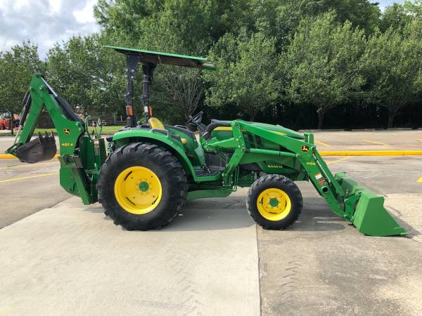 Photo 2017 John Deere 4044M Tractor 44HP 4WD Loader HST BackHoe Warranty - $27,900