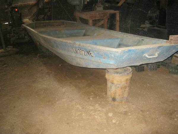 Photo Aluminum Flat Bottom Boat - $900 (Kaplan)