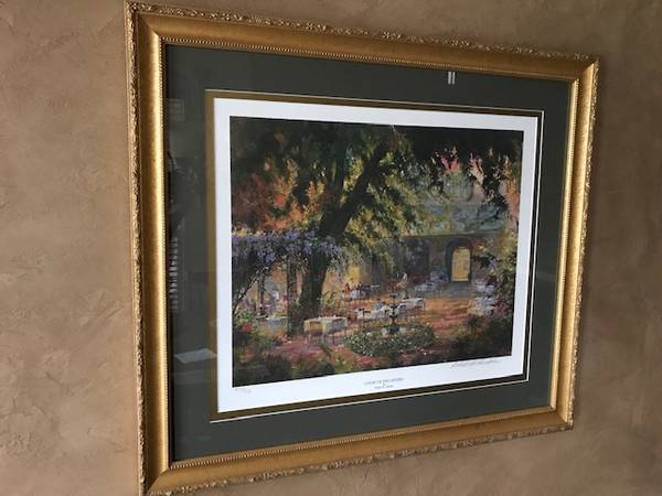 Photo COURT OF TWO SISTERS by Robert M. Rucker - Signed  Numbered  Framed - $375 (New Orleans  Destrehan)