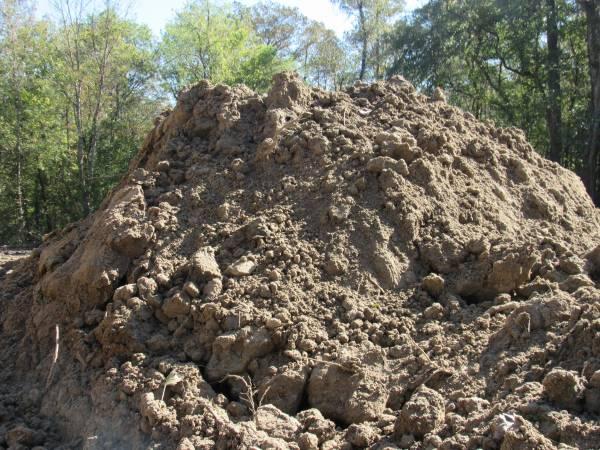 Photo Fill dirt. - $150 (Thibodaux)