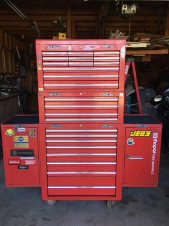 Photo Mac tool box and tools - $4,500 (Bayou Blue)