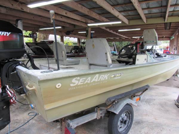 Photo SEA-ARK 163939 with 60 MERCURY BIGFOOT - $4,000 (Ocean Springs)