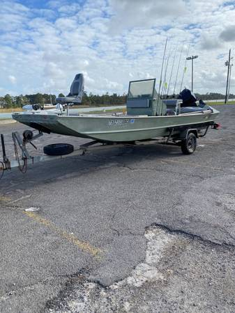 Photo 18ft super wide tunnel hull flat bottom - $8,500 (Nw Houston)