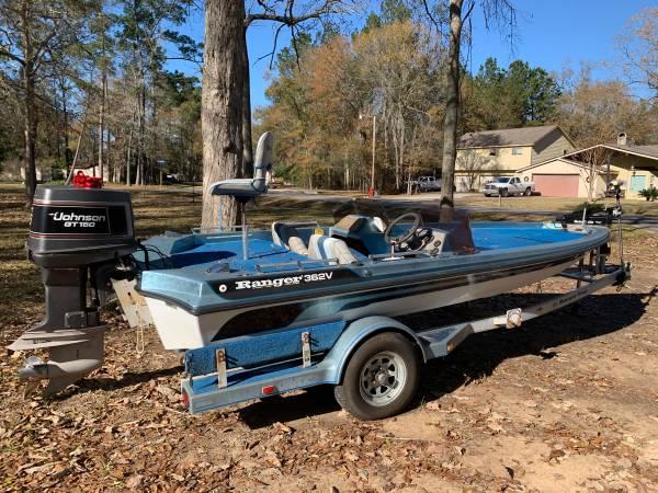 Photo 1990 Ranger 362V Bass Boat - $4,200 (New Caney)