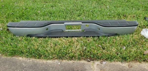 Photo 1999-2007 Silverado Rear Step Bumper - $125 (Deer Park)
