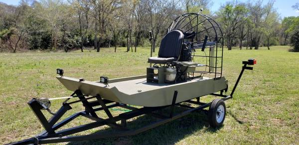 Photo 1 Man Air Boat with trailer - $11,850 (Waller)