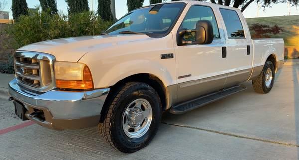 Photo 2000 FORD F250 Powerstroke 7.3 L Turbo Diesel 1-Owner Crew-Cab Lariat - $19,500 (Houston)
