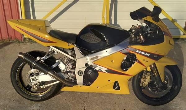 Photo 2001 Suzuki GSXR1000 Gsxr 1000 - $3,500 (Houston)