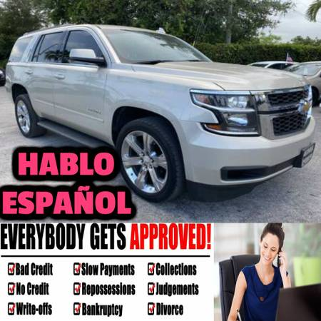 Photo 2015 CHEVROLET tahoe In House Financing 2000to3000 down - $2,000 (Repos Ok Open Loans ok We Don Play Games We Can Help You)
