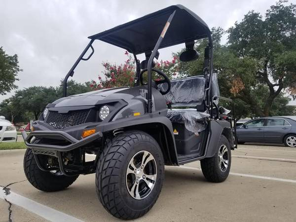 Photo 2020 Dynamic GAS GOLF CART 25MPH SHOP AT HOME WE DELIVER TO YOUR DOOR - $4250 (DYNAMIC CARTS)
