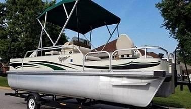 Photo 21 2003 pontoon boat for sale - $1,100 (Spring Branch)