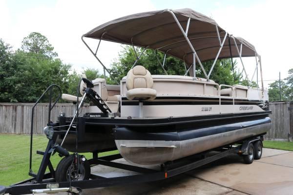Photo 24ft Pontoon Boat - $10,000 (Cypress Tx)