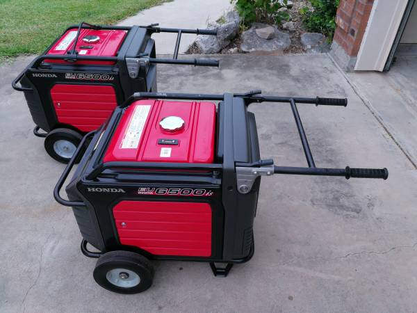 Photo 2 Honda Generators EU6500is - $3100