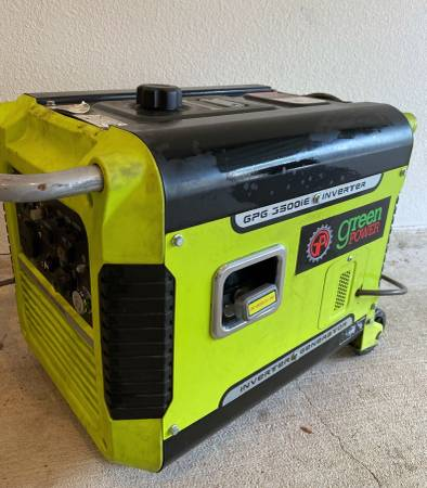 Photo 3500 watt gasoline inverter generator - $550 (The WoodlandsSpring)