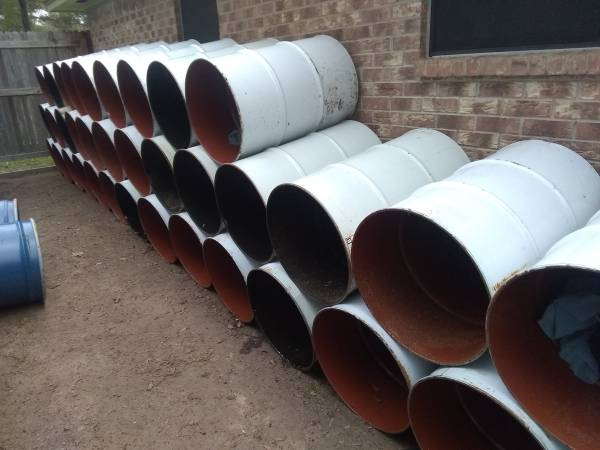 Photo 55 Gallon Barrels (Used For Deer Feeders) - $35 (Downtown Cypress)