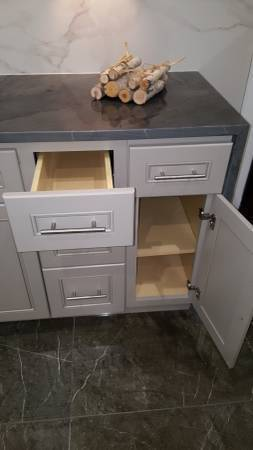 Photo All Ready-To-Assemble cabinets are made from quality wood and plywood (Houston Katy Spring Cypress Sugar land)