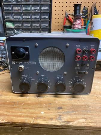 Photo Allied Radio Corp Knight Signal Tracer - 83 Y 135 (Vintage 196039s) - $75 (Sugar Land)