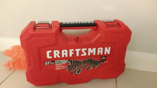 Photo BRAND NEW Craftsman 51-piece Mechanic Tool Set - $62 (HEB at 4950 FM 1463)