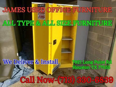Photo Classic Office Furniture .Drawer Vertical Steel Filing Cabinet - $1 ((JAMES USED Office furniture))