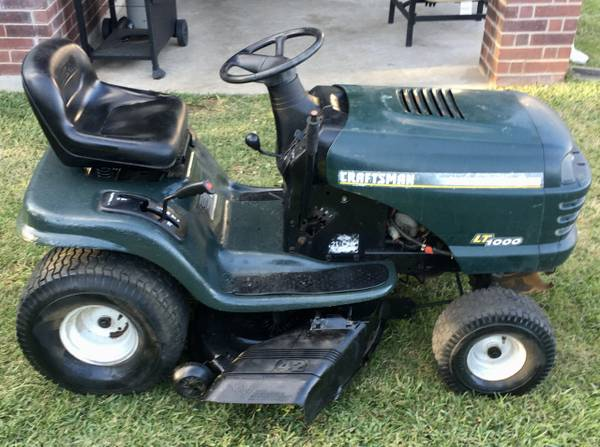 Photo Craftsman 42quot Riding Mower w 21 HP Briggs PRICE IS FIRM - $600 (Jersey VillageJVCypress)