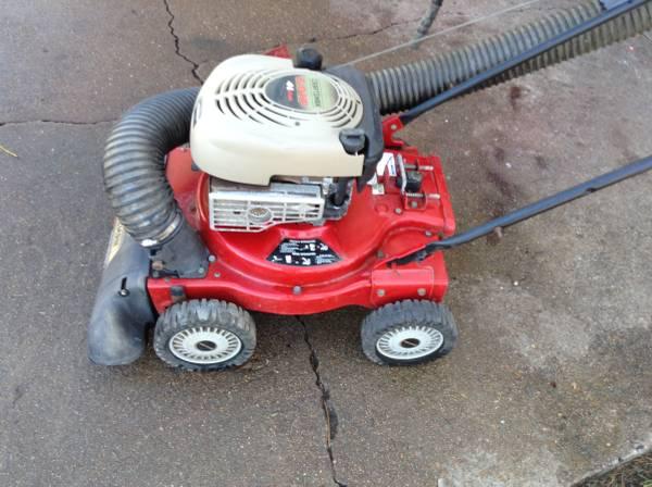 Photo Craftsman 6.0 hp Yard Vacuum - $150 (Missouri City)