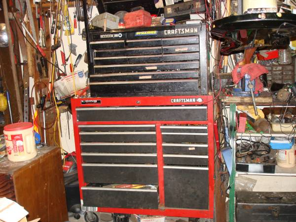 Photo Craftsman roll away tool boxes wtools - $1200 (Texas City)