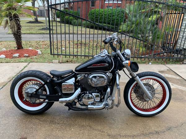 Photo Custom Honda Shadow Spirit 750 BobberChopper - $3,300 (Friendswood, TX.)