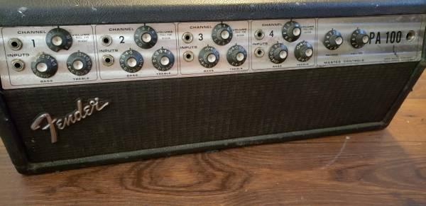 Photo Fender pa 100 modifier39s delight - $300 (Webster)