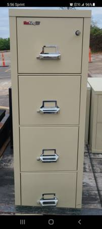 Photo Fire King file cabinets (Tomball)