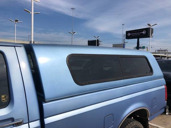 Photo Ford F250 F350 LongBed 8ft Cer Shell 1992 - 1997 Ford - $700 (Galleria Area)