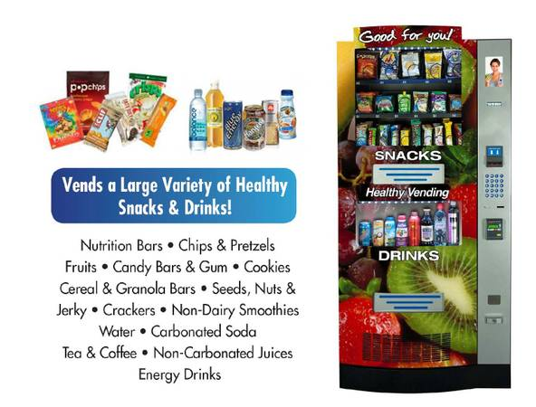 Photo HY2100 Seaga Healthy You Vending Machine for Sale - $1,800 (League City)
