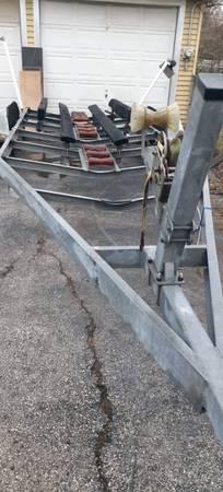 Photo Heavy Duty Boat Trailer - for boat 25-28Ft - $2,950 (Baytown)