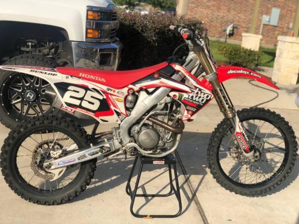 Photo Honda 2010 CRF250R - $3,200 (Richmond Houston)