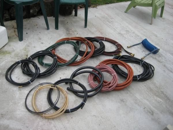 Photo Huge HOSE Assortment (all made in USA) (all for $100)(REDUCED) - $100 (Houston)